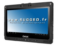 Tablette tactile Getac K120 transformable en Ordinateur portable avec Clavier detachable