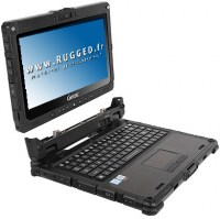 Getac K120 pc-portable hybride tablette tactile detachable